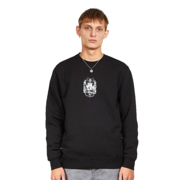 Stussy True To This Crew Sweater (Black)
