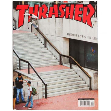 Thrasher Magazine August 2018