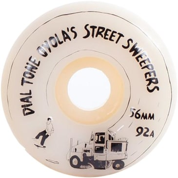 Dial Tone Oyola's Street Sweepers Round Cut Wheel 92A 56mm