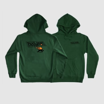 Pass~Port Mirror Man Hoodie - Green