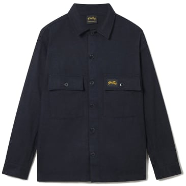 Stan Ray Wool CPO Shirt - Navy