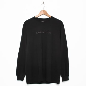 Sour Solution Embroidered Longsleeve Black