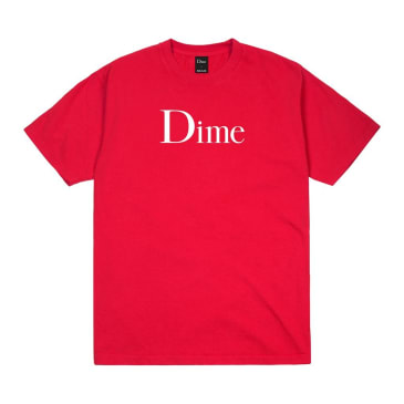Dime Classic Logo Tee Tomato