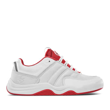 éS Evant Skate Shoes - White / Red