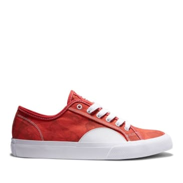 DC Manual S Evan Skate Shoes - Red / White