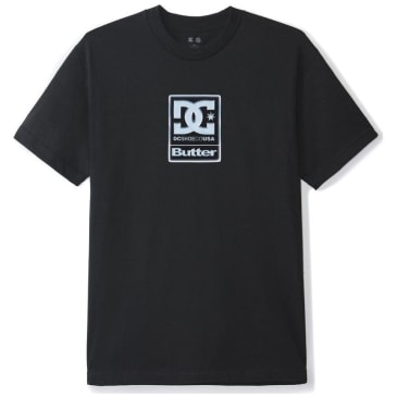 DC x Butter Goods Badge T-Shirt - Black
