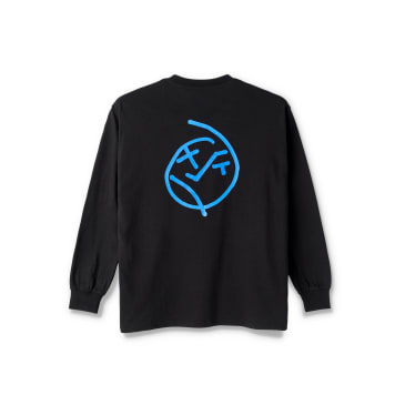 Polar Skate Co Big Boy Long Sleeve T-Shirt - Black