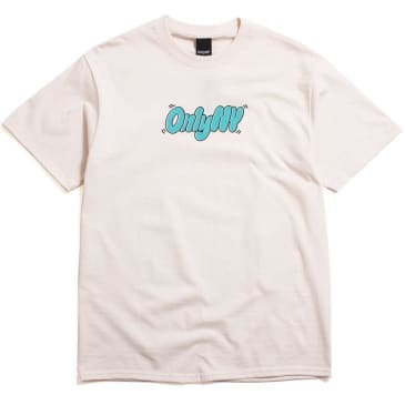 "ONLY NY - ""THROWY T-SHIRT"" (NATURAL)"