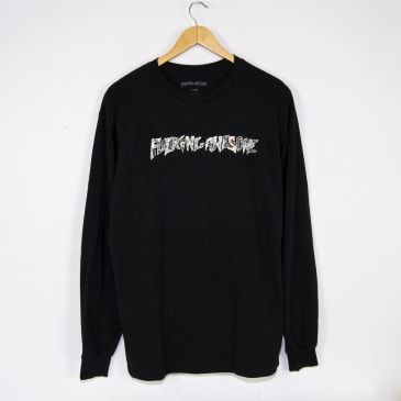 Fucking Awesome - Actual Visual Guidance Longsleeve T-Shirt - Black