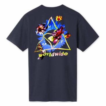 HUF Come Down Triple Triangle T-Shirt - French Navy