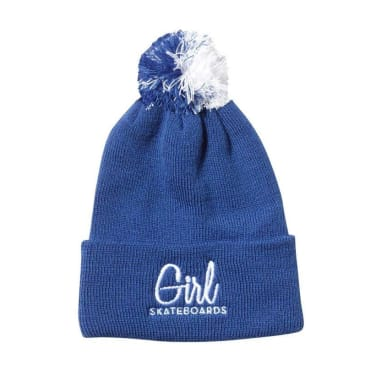 Girl Century Embroidered Beanie (Royal)