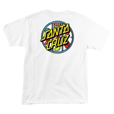 SANT CRUZ Jackpot Dot Tee White