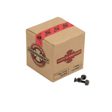 """Independent Genuine 1.25"""" Cross Bolts Phillips Hardware in Black"""