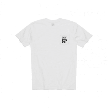 Passport Hail Pocket T-Shirt - White