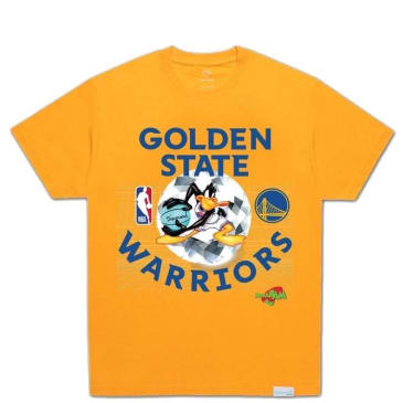 Diamond Supply Co. X Nba Space Jam Golden State T-Shirt - Gold
