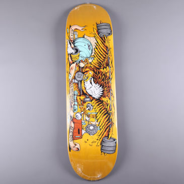 "Anti Hero 'Pumping Feathers' 8.5"" Deck"