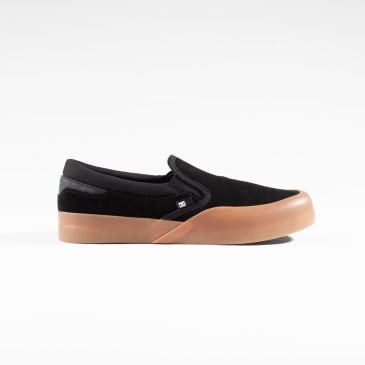 DC Infinite Slip-On Youth Shoes - Black / Gum