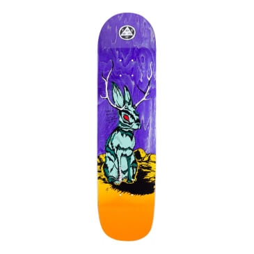 Welcome Skateboards Jackalope on Bunyip Mid Skateboard Deck Desert - 8.25""