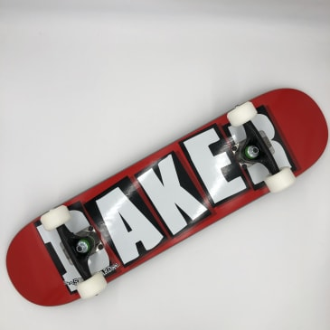 "Baker Skateboards- Branded Logo Complete 7.37"""