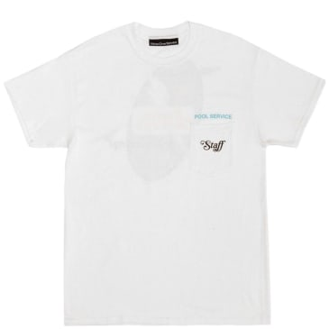 Call Me 917 Pool Service T-Shirt - White