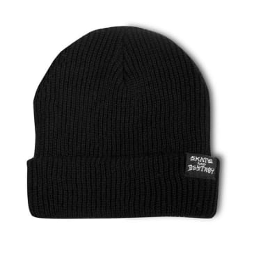 Thrasher Skategoat / Skate And Destroy Beanie (Black)