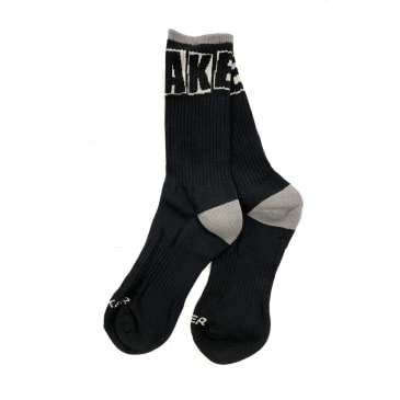 Baker Skateboards Brand Logo Socks Black