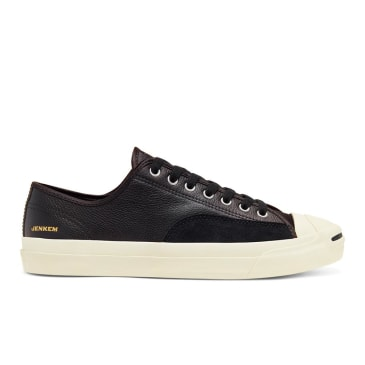 Converse Cons Jenkem Jack Purcell Pro OX Skateboard Shoes - Black/Egret/Black