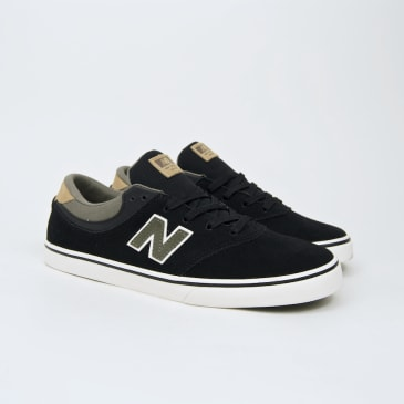 New Balance Numeric - Quincy 254 Shoes - Black / Foliage Green / White