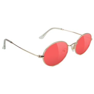 Glassy Stark Gold/Red Lens