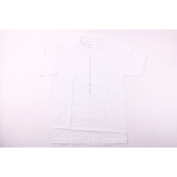 Grand Collection Centered T-Shirt - White