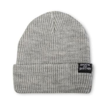 Thrasher Skategoat / Skate And Destroy Beanie (Grey)