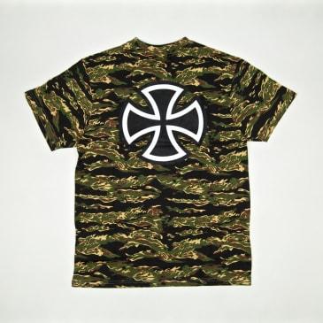 Independent - Bar Cross T-Shirt - Tiger Camo
