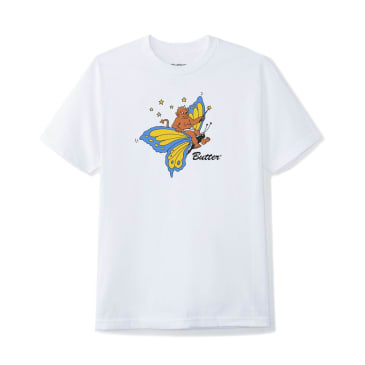 Butter Goods Butterfly T-Shirt - White