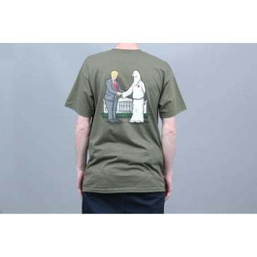 Real Skateboards Wrench Justice T-Shirt - Green
