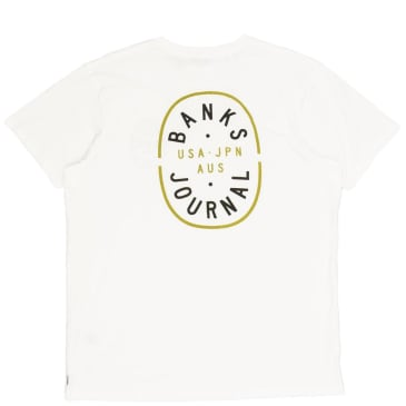 Banks Journal Powers T-Shirt - Off White