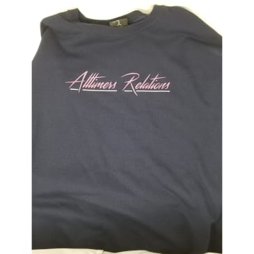 ALLTIMERS RELATIONS CREWNECK - NAVY