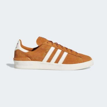 Adidas Campus ADV Skateboarding Shoes - Tech Copper/Chalk White/Gold Metallic