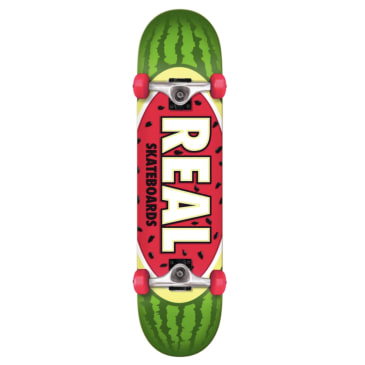 Real Skateboards Team Oval Watermelon Complete 7.75 (Beginner)