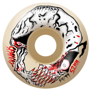 Spitfire Wheels - Spanky Neckface Classic Formula Four Wheels 99a 52mm