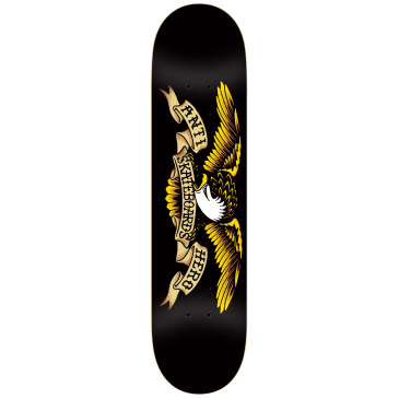 Anti Hero Classic Eagle Skateboard Deck Black - 8.125""