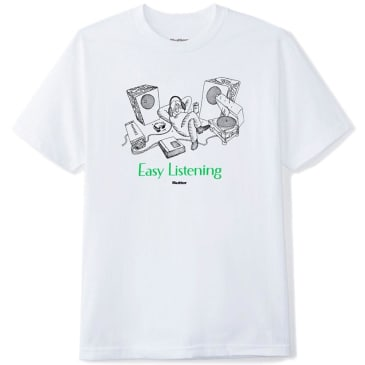 Butter Goods Easy Listening T-Shirt - White