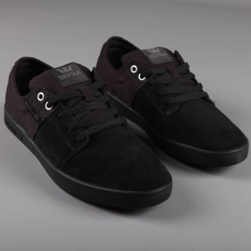 Supra 'Stacks II' Skate Shoes (Black)