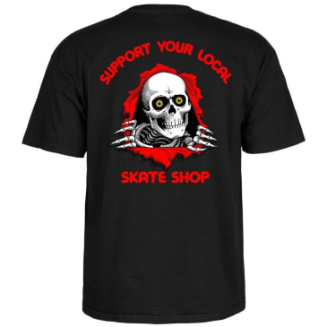 Powell Peralta SYLSS Ripper T-Shirt - Black