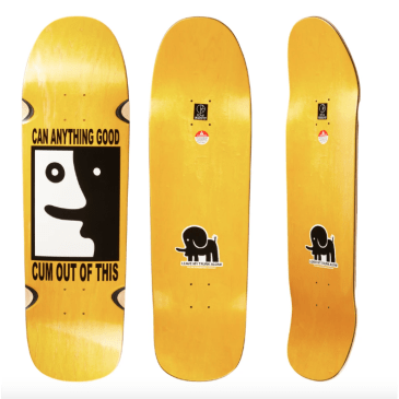 Polar Leave My Trunk Alone Team Deck Assorted Stain 8.5""