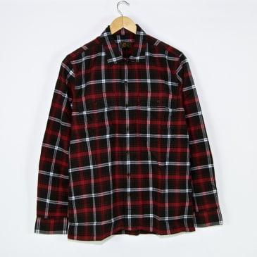 Levi's Skateboarding Collection - Work Shirt - Scanlon Red / Jet Black
