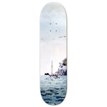The National Skateboard Co Sailing Boat High Concave Deck - 8.25""