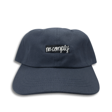 No-Comply Box Logo Dad Hat Navy