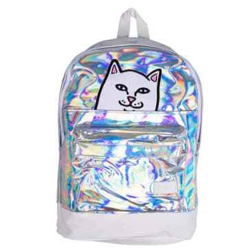Ripndip Lord Nermal Velcro Hands Backpack (Iridescent)