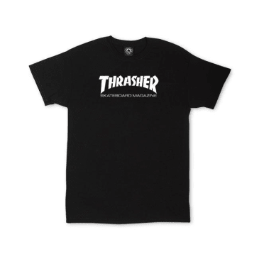 THRASHER YOUTH SKATE MAG SHIRT - BLACK