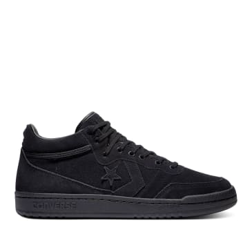 Converse Cons OG Block Fastbreak Pro Mid Skate Shoes - Black / Black / Black